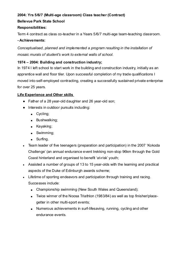 Virtual teacher cover letter