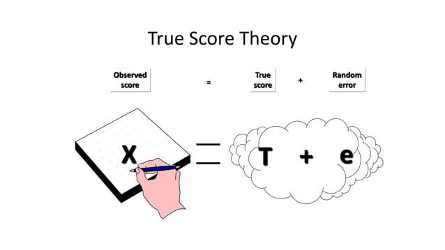 The Error Component T e+X Two components: