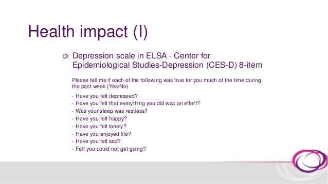 Health impact (I) 0.77 0.74 0.66 0.50 0 0.2 0.4 0.6 0.8 1 1.2 Never ≤Once a year Once or twice a year Every few months ≥On...