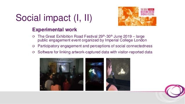 Social impact (I, II) KIMA: Voice by Analema Group: an interactive artwork which invites audiences to find harmonies betwe...