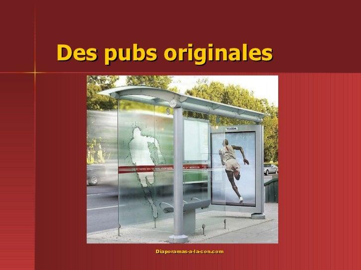 Des pubs originales PPS créer pour  www.diaporamas-a-la-con.com