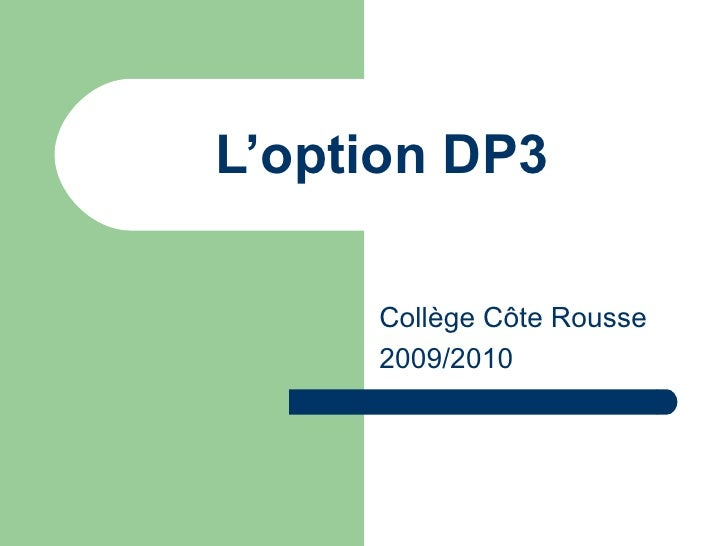 09 Dp3 Presentation
