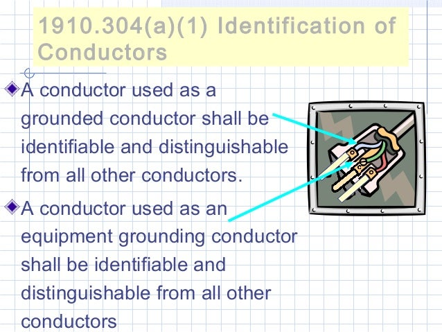09 electrical safety identification of conductors grounded sciox Image collections