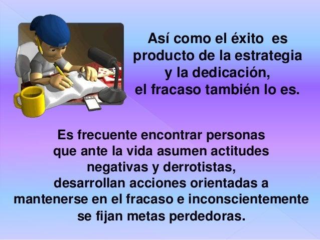 Cada persona puede ser triunfadora y perdedora al mismo tiempo, dependiendo del éxito o fracaso obtenido en las diferentes...