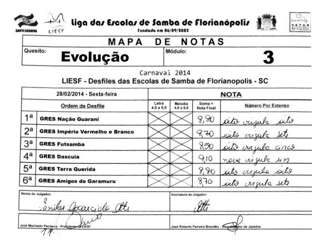 "- ..!,  li9a dal EICOial de Samba de rlotianOpolil  L f r <; f  SANTAcAralil84  ?""""""'""""'' '  SETUR  '•!'  --.J~:~--,~  run..."