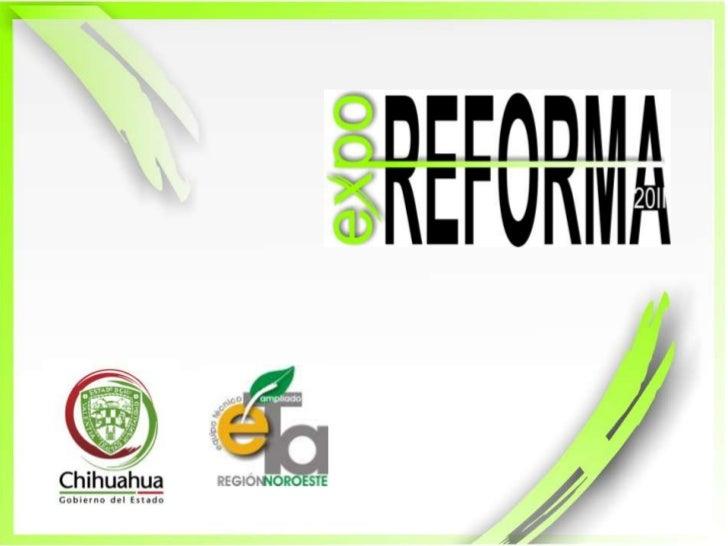 09 expo reforma 2011 artes Slide 1