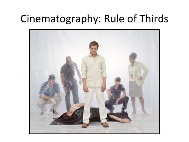 Cinematography: Rule of Thirds