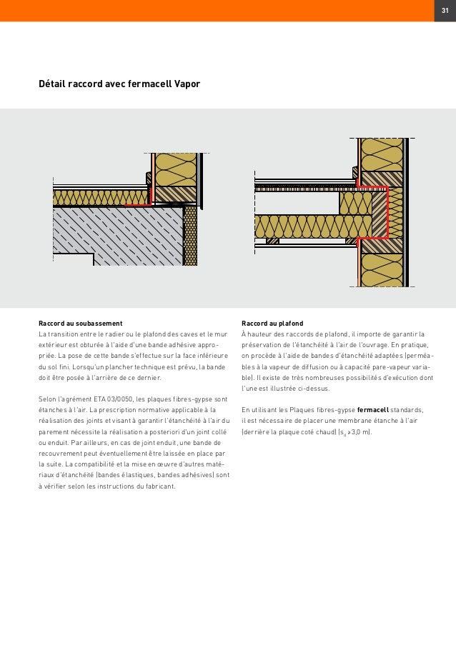 Fermacell dans la construction ossature bois mise en for Chape legere plancher bois