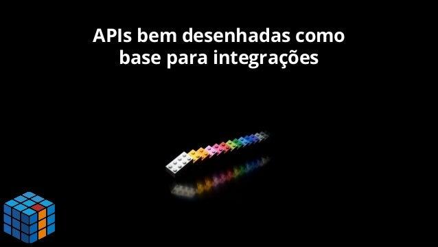APIs bem desenhadas como base para integrações