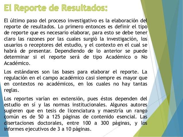 Documento Reporte de Investigación Slide 2