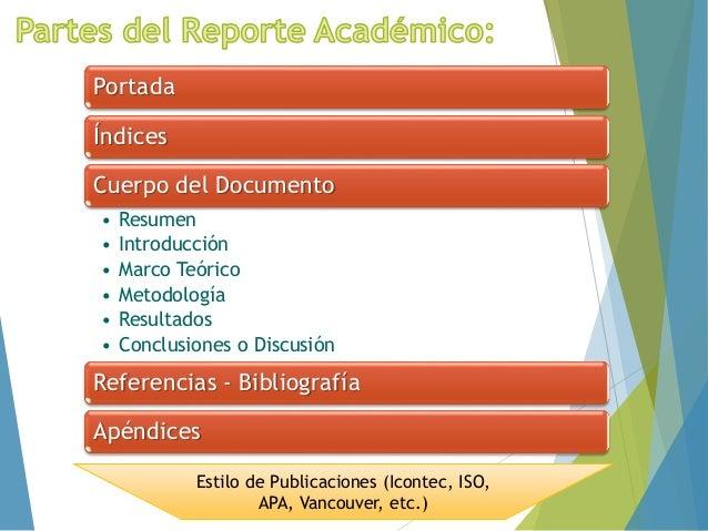 Documento Reporte de Investigación Slide 3