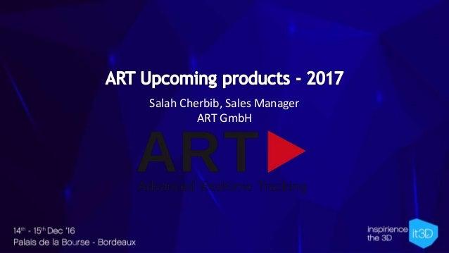 Salah Cherbib, Sales Manager ART GmbH