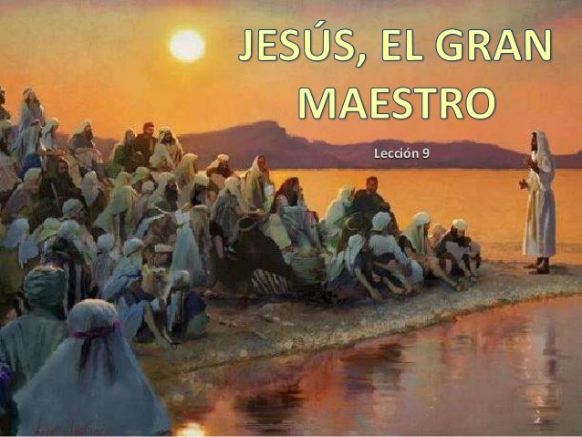 Jesús, Maestro