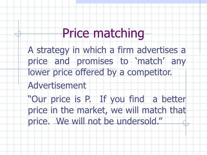 Business Economics 09 Market Structures & Pricing Strategy
