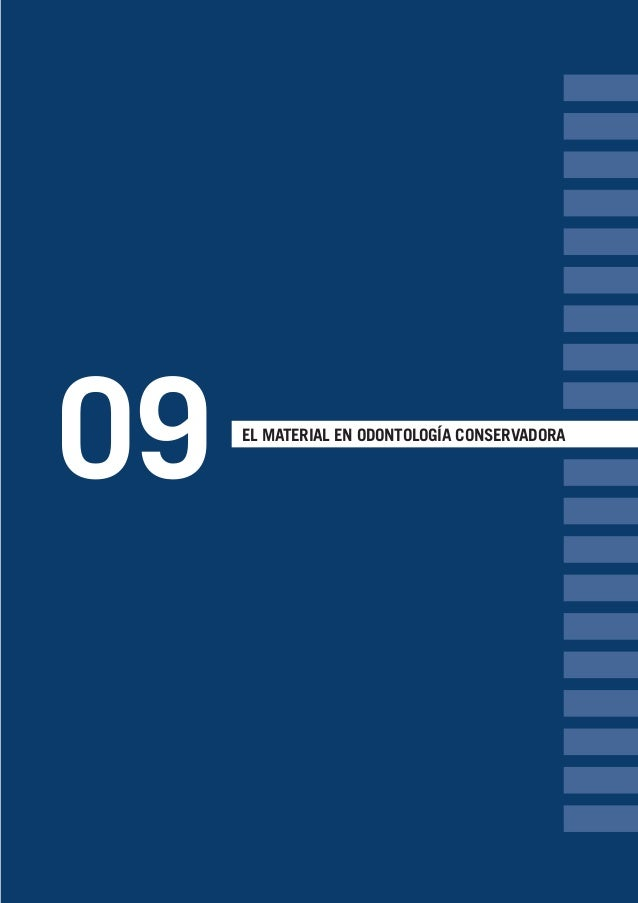 09 EL MATERIAL EN ODONTOLOGÍA CONSERVADORA LLIBRE PROCLINIC-OK-corregido.indd 101 6/9/10 16:34:40