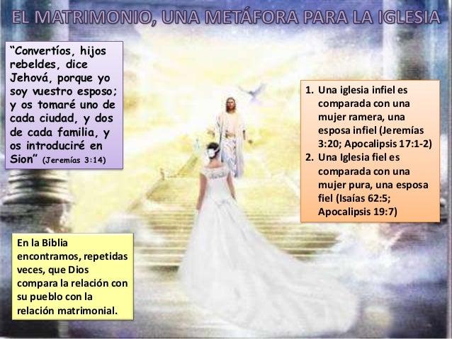 El Matrimonio La Biblia : Matrimonio don del eden
