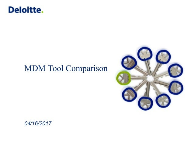 09 mdm tool comaprison