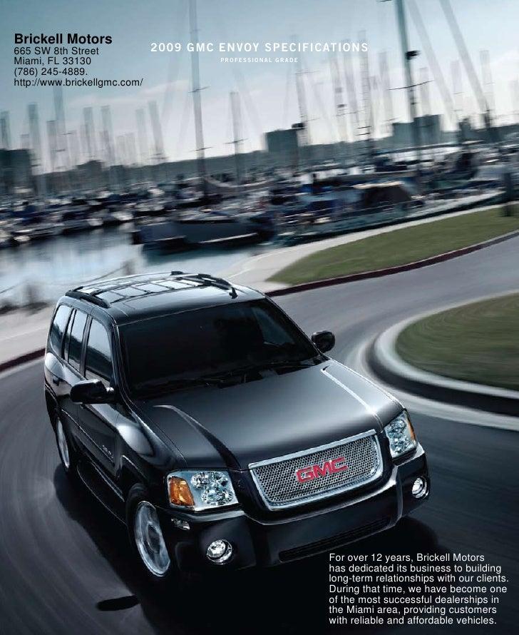 2010 gmc envoy miami for Brickell motors used cars
