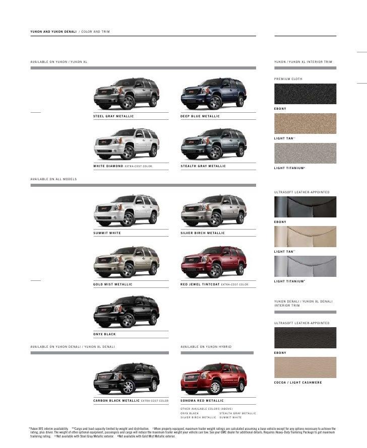 2005 Gmc Yukon Xl 1500 Interior: 2005 Gmc Sierra Interior Color Codes