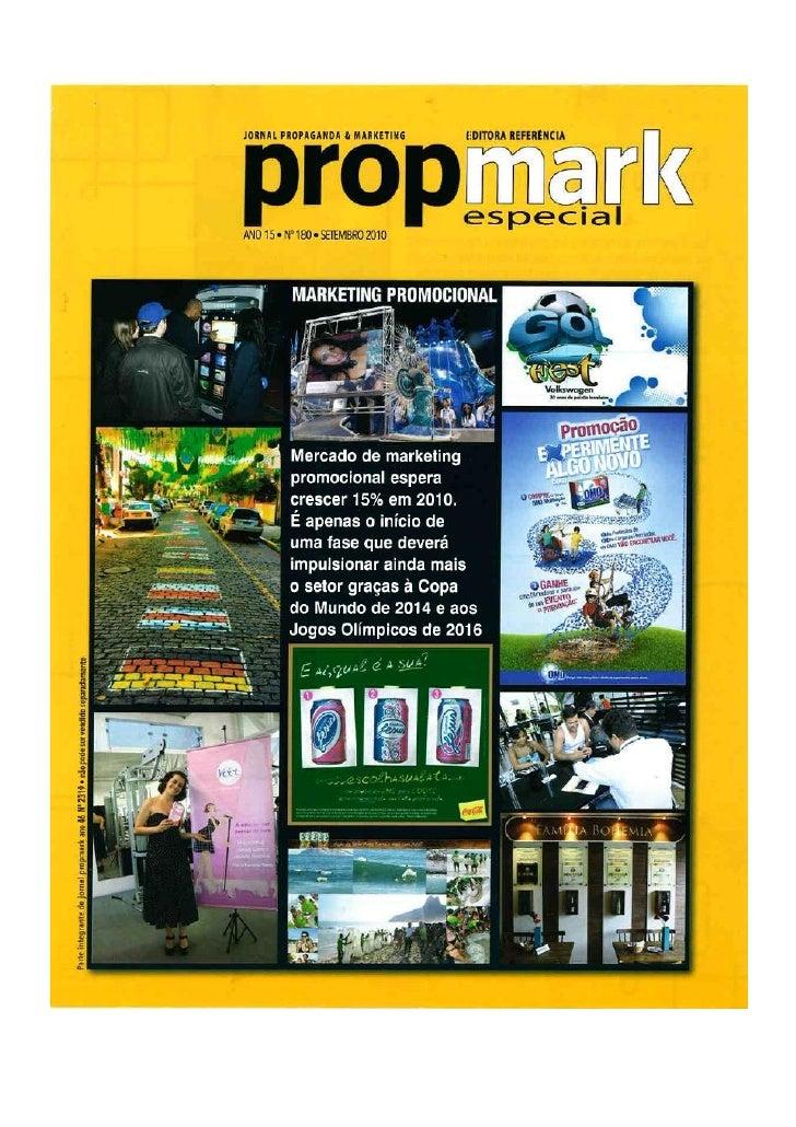PropMark - Artigo Excelência pelo melhor custo X Mediocridade pelo menor custo