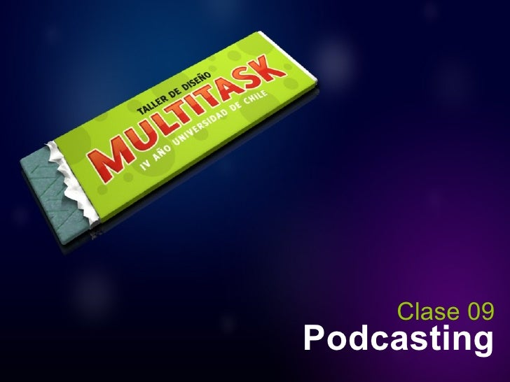 Podcasting Clase 09