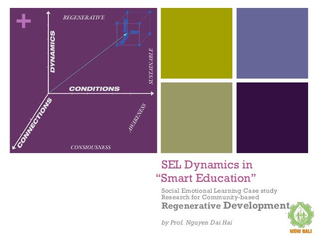"+ SEL Dynamics in ""Smart Education"" Social Emotional Learning Case study Research for Community-based Regenerative Develop..."