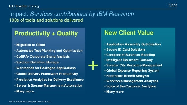 IBM an Era of new computing