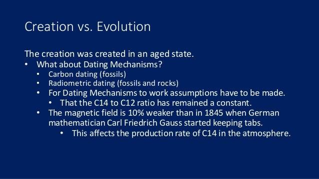 creationist arguments carbon dating