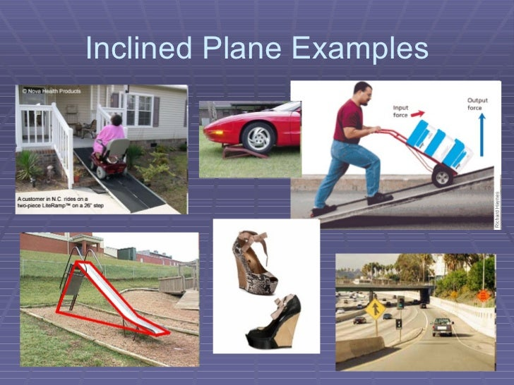 simple machine inclined planes