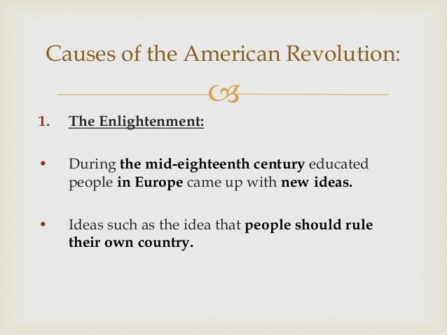 Age of enlightenment and eighteenth century