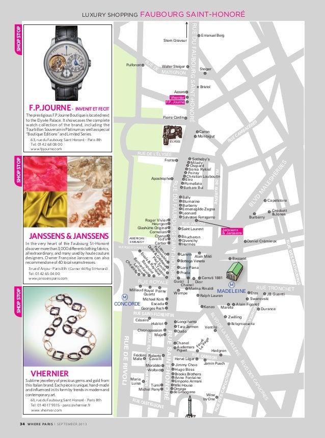 Magazine Where Paris n°236, english edition, daté septembre 2013 fbe11c71c13