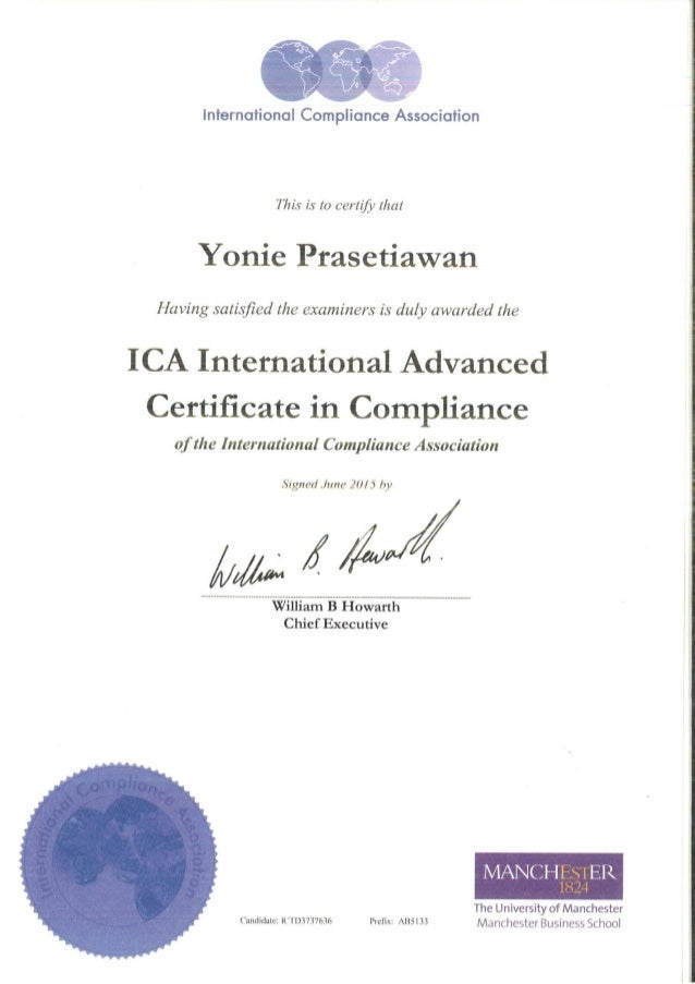 Ica international advanced certificate in compliance 1 638gcb1438268834 altavistaventures Images