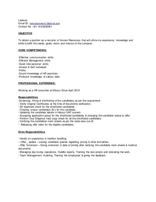 Lavanya Resume - 2015