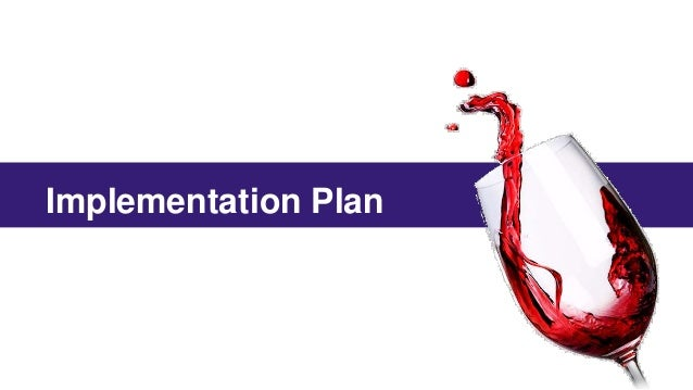 international wine marketing plan Our mba wine marketing & management trains students to work in the wine industry: sales, export, marketing, purchasing or communication it's a one-year mba program taught in english.
