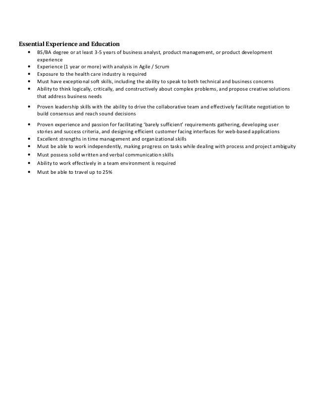 Business Analyst Job Description Denver Co 31015 – Business Analyst Job Description