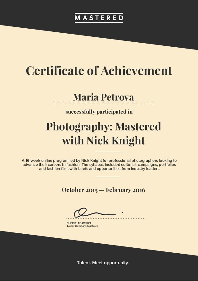 photography-mastered-certificate