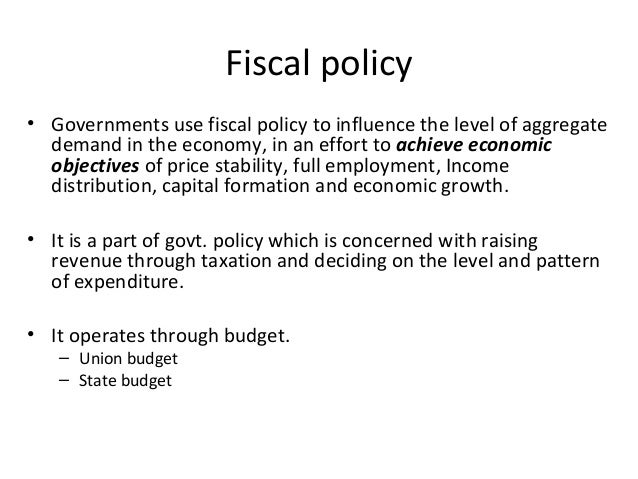 Fiscal Policy and Full Employment