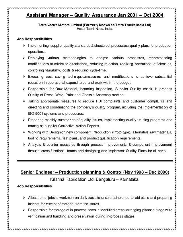 venkatesh narayanan resume supply chain