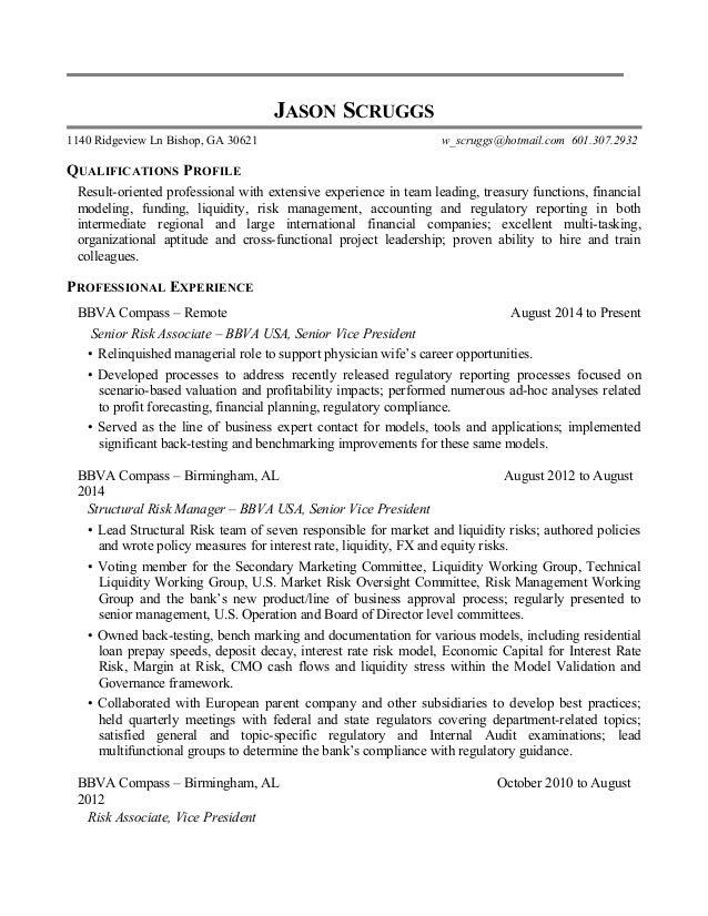 JASON SCRUGGS 1140 Ridgeview Ln Bishop, GA 30621 w_scruggs@hotmail.com 601.307.2932 QUALIFICATIONS PROFILE Result-oriented...