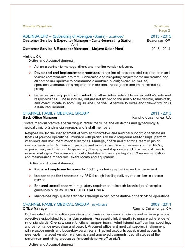 Healthcare Customer Service Resume Maggilocustdesignco - Sample resume for customer service in healthcare