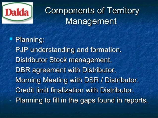 Territory Management Planning With Sales Basics