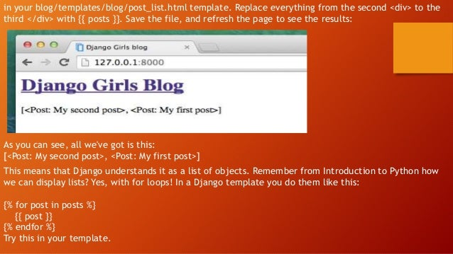Django girls tutorial 69 we pronofoot35fo Gallery
