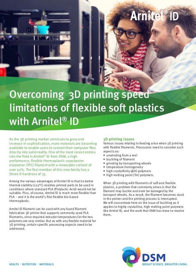 Arnitel ID 3D printing