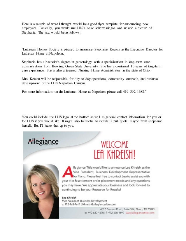 welcome flyer for new employee - Monza berglauf-verband com