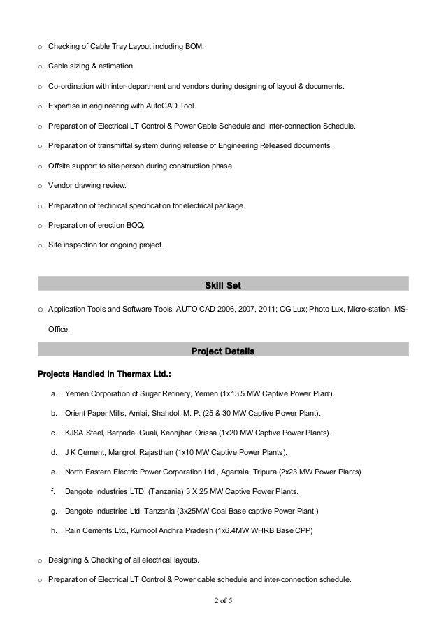 Resume_Susanta Slide 2