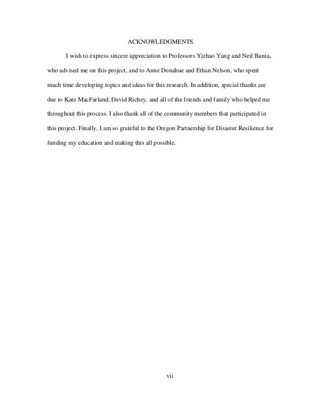 vii ACKNOWLEDGMENTS I wish to express sincere appreciation to Professors Yizhao Yang and Neil Bania, who advised me on thi...