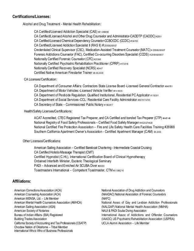 Substance Abuse Counselor Resume Sample Free Professional Resume