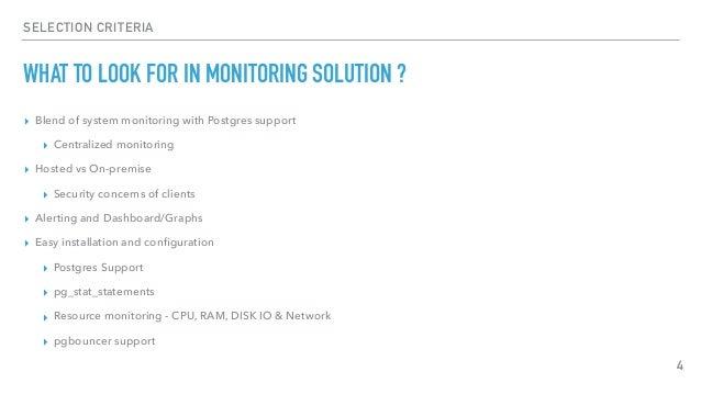 Advanced Postgres Monitoring