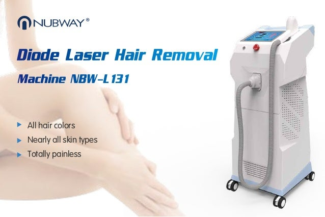 Diode Laser Hair Removal Machine Nbw L131 Brochure