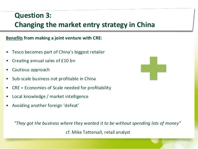 tesco competition in china